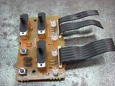 Kenwood KX-95W Cassette Deck REPAIR PART - Control Switch PCB X29 C/5