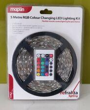 Maplin 5 Metre RGB Colour Changing LED Lighting Kit
