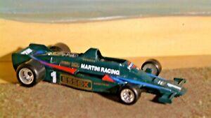 Polistil. CE 119. Lotus 80 Martini Essex. Andretti Made 3-80. Fine condition.