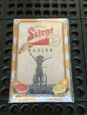 New ListingSteigl Brewery Radler Beer Tin Sign. Measures 7 3/4� Wide. 11 3/4� Tall. New.