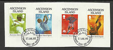 ASCENSION 1998 SPORTS Cricket Golf Football Shooting 4v FINE USED on Piece