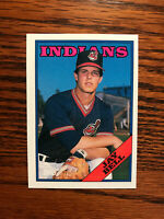1988 Topps #637 Jay Bell Baseball Card Cleveland Indians Rookie RC Raw