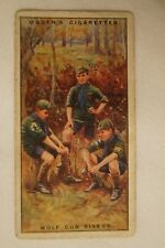 Vintage - 1900's - Ogdens - Boy Scouts - Series Card - Wolf Cub Sixers