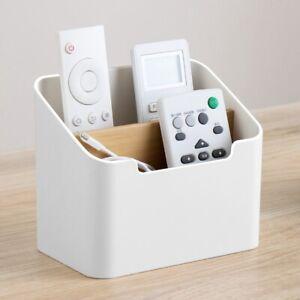 Phone/TV Remote Control Storage Box Home Desk Makeup Container Holder Organizer