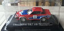 """DIE CAST """" TRIUMPH TR7 V8 MANX RALLY - 1978 """" RALLY DEA SCALA 1/43"""