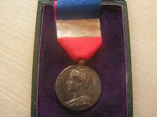 medaille commerce et industrie 1895 en argent