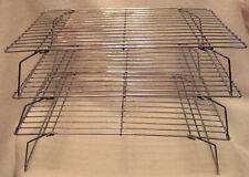 Set of 3 Stacking Metal Cookie Cooling Racks