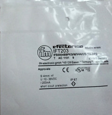 1PC New IFM IFT203 INDUCTIVE SENSOR METAL THREAD STAINLESS STEEL
