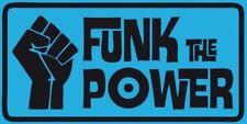 New Vinyl Sticker funk soul power 17x8.5cm parliament Clinton laptop retro cool