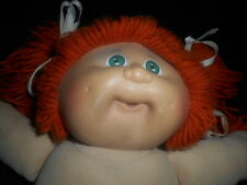 VINTAGE 1982  XAVIER ROBERTS RED HAIRED GREEN EYED CABBAGE PATCH DOLL