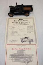 Rare Danbury Mint 1925 Ford Black Model T Runabout Die-Cast Metal 1:25 Scale