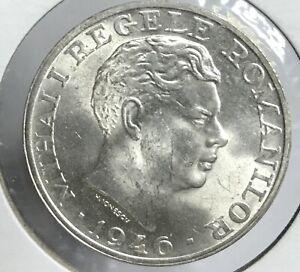 1946 Romanian Silver 25000 LEI ***STUNNING UNC.***
