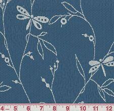 Robert Allen Clematis Baltic Matelasse Floral Woven Fabric