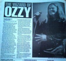 BLACK SABBATH Birmingham NEC 1997 concert review UK ARTICLE / clipping