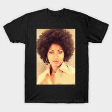 Rare! Pam Grier T shirt Tee For Men Women TL019