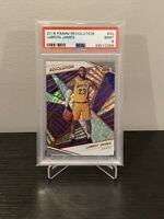2018 Panini Revolution #40 LeBron James - Lakers PSA 9 MINT 🔥📈