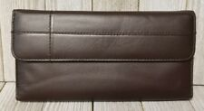 Brown Buxton Genuine Leather Womens Wallet - BIN29