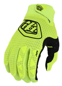 TROY LEE DESIGNS TLD MENS SOLID FLO YELLOW MTB CYCLING AIR GLOVES S M L XL 2X