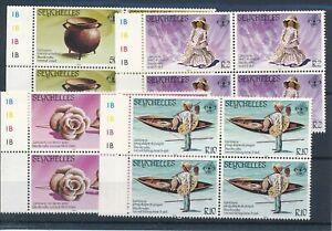 [21346] Seychelles 1984 4x good set very fine MNH stamps