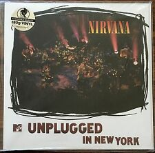 NIRVANA - MTV Unplugged In New York [Live Acoustic] LP [Vinyl NEW] 180gm Import