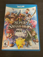 Super Smash Bros. (Nintendo Wii U, 2014)No Manual