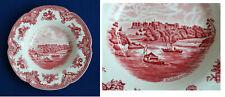 Johnson Bros Old Britain Castles rot 6 Suppenteller soup plates 22,5 cm