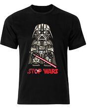 Star Wars Darth Vader Parody Protest Stop Wars Mens T-Shirt AI01