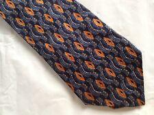 Mens Blue Brown Tie Necktie OPTIONS (2570) ~ FREE US SHIP