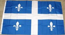 3X5 QUEBEC FLAG CANADIAN PROVINCE CANADA 3'X5' NEW F171