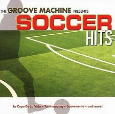 FREE US SHIP. on ANY 3+ CDs! ~Used,Very Good CD Groove Machine: Soccer Hits