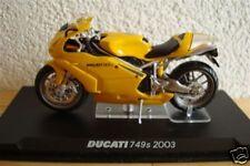Ducati 749 S 2003 Yellow Top 1:24