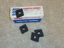 4 New Adamas CNMG 643 ROX Carbide Inserts