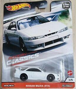 Hot Wheels Premium Modern Classics Nissan Silvia S14