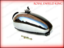 Royal Enfield Bullet Custom Deluxe Petrol Tank Chromed Black