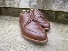 CROCKETT AND JONES VELDTSCHOEN DERBY – BROWN / TAN – UK 7 – WEXFORD - VGC