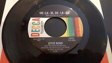 JOYCE BOND REVIEW Ob-La-Di, Ob-La-Da / Robin Hood Rides Again 45 Decca 32433