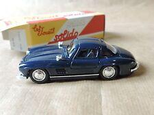 Solido Mercedes 300 SL 1954  + boite échelle: 1/43 collection Hachette