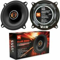 "NEW Pair Of JBL 120 Watts CLUB 5020 5-1/4"" 2-Way Car Coaxial Speakers 5.25"""