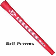 "Avon Chamois Oversize/Jumbo Red Golf Grip-Mens +1/6"" -Select Your Grips Quantity"
