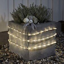 LED Lichtschlauch 9m warmweiß Batterie / Timer Konstsmide 3745-100