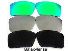 Galaxy Replacement Lenses For Oakley Big Taco Black&Gray&Green Polarized 3PS