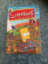 Simpsons Very Fine Grade Comic Books in English