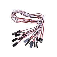 10x 50cm longueur mâle à femelle servo rallonge câble fil PM