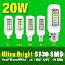Ultra Bright SMD Green LED Corn Bulb Lamp Cool/Warm White B22/G9/E27 20W Lights