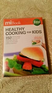 Vintage MiBook Food network MC102 SD Card e-Book,Healthy cooking for Kids,Rare