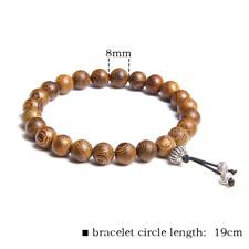 Bracelet Men Jewelry Pulseira Healing Balance Buddha Beads Reiki Prayer Yoga 153