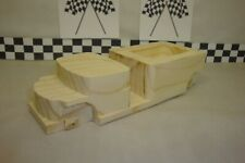 Pinewood Derby #45 Pre-cut GMC Cab Over Truck, Realistic Fenders, Light, Truck!