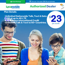 Lycamobile Prepaid SIM Cards for sale | eBay