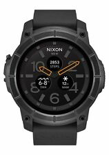 *BRAND NEW* Nixon Mission 48mm Android Wear Smartwatch - Black