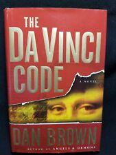 The Da Vinci Code by Dan Brown Hardcover Edition Book